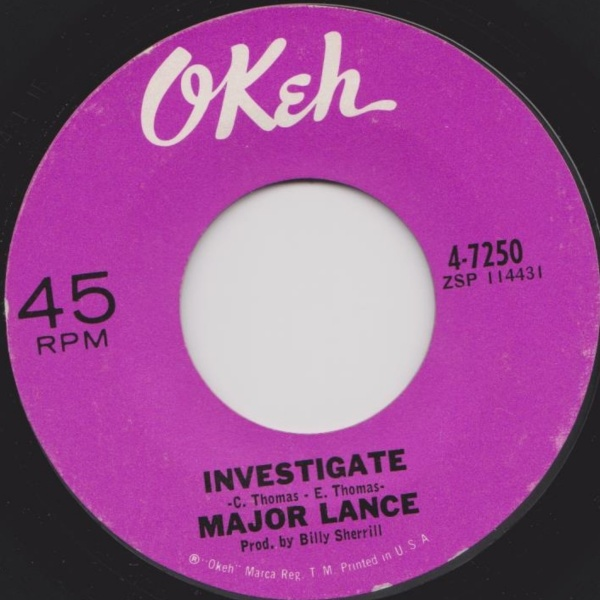 Major Lance Investigate