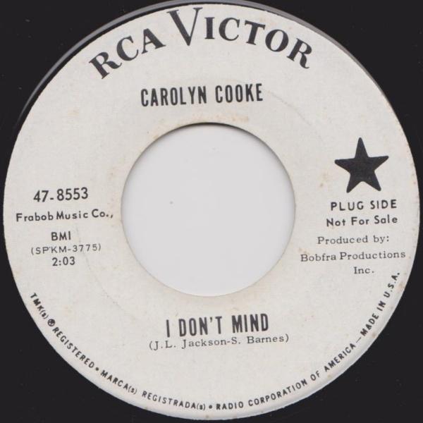 Carolyn Cooke I Dont Mind